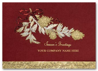 Gracious Business Holiday Card