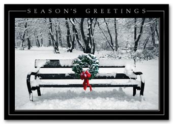 Quiet Celebration Holiday Card