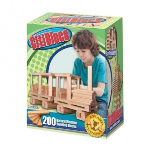 CITIBLOCS NATURAL 200PC SET
