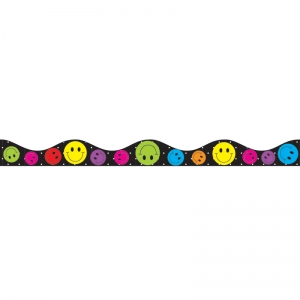 MAGNETIC BORDER SMILE FACES