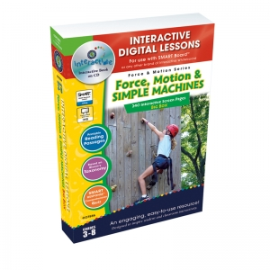 FORCE MOTION & SIMPLE MACHINES BIG  BOX INTERACTIVE WHITEBOARD LESSONS