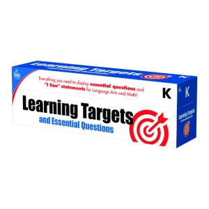 GR K LEARNING TARGETS & ESSENTIAL  QUESTIONS
