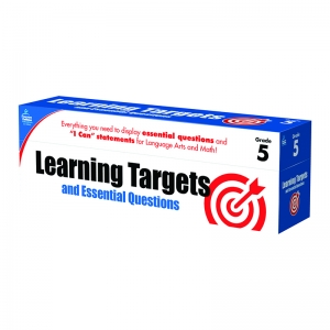 GR 5 LEARNING TARGETS & ESSENTIAL  QUESTIONS