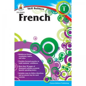 SKILL BUILDERS FRENCH LEVEL 1  GR K-5