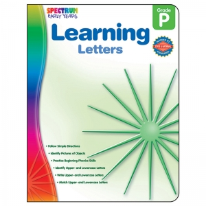 READINESS LEARNING LETTERS SPECTRUM  EARLY YEARS