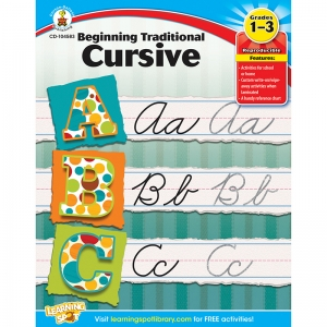 BEGINNING TRADITIONAL CURSIVE  GR 1-3