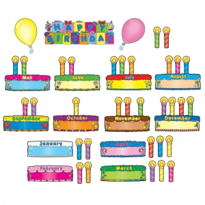 BIRTHDAY CAKES MINI BB SET