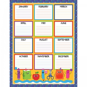 BIRTHDAY CHARTLET GR PK-5  DECORATIVE