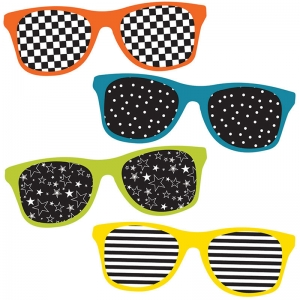 SCHOOL POP SUNGLASSES CUT OUTS
