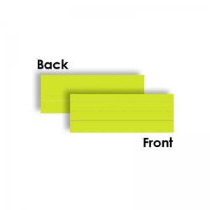 WORD STRIPS LINED 75PK MULTI COLOR  3 X 8