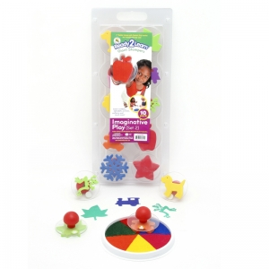 READY2LEARN GIANT IMAGINATIVE PLAY  SET 2 STAMPS