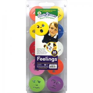 READY2LEARN GIANT FEELINGS STAMP  SET