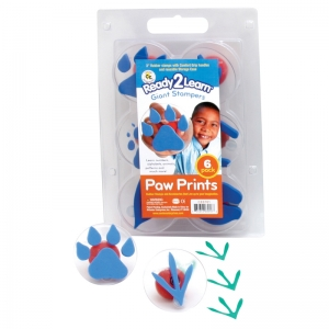 READY2LEARN GIANT PAW/ PRINTS  STAMPERS