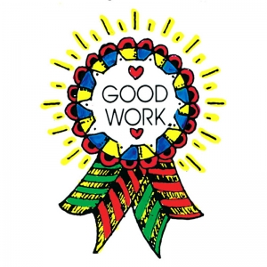 STAMP GOOD WORK AWARD