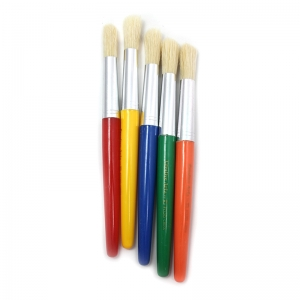 BRUSHES STUBBY ROUND 5 SET