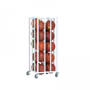 STEEL BALL CAGE LOCKING CASTERS