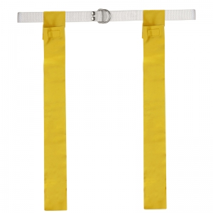 FLAG FOOTBALL SET 12 YELLOW ONE SZ  FITS ALL BELTS