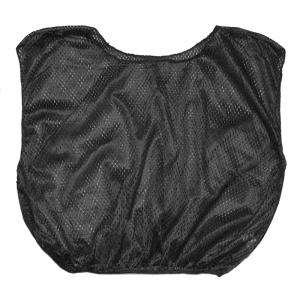 VEST YOUTH PRACTICE SCRIMMAGE BLACK  12 COUNT