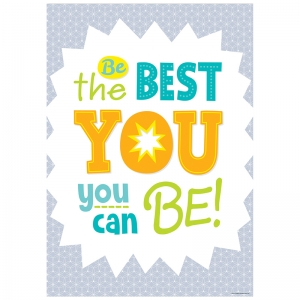 BE THE BEST YOU  INSPIRE U POSTER  PAINT