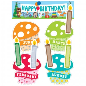 HAPPY BIRTHDAY MINI BB SET  WOODLAND FRIENDS