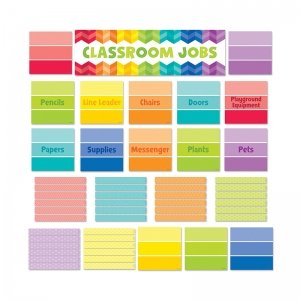 CLASSROOM JOBS MINI BB SET - PAINT