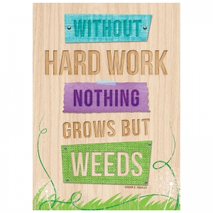 WITHOUT HARD WORK INSPIRE  U POSTER