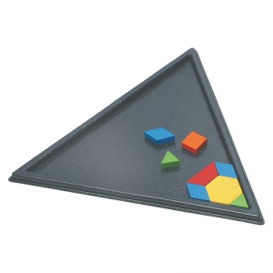 TRIANGLE PATTERN BLOCK TRAY