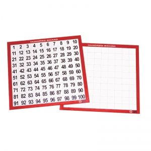 LAMINATED HUNDRED BOARDS SET OF 10