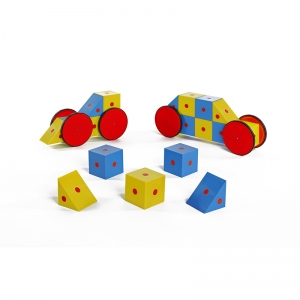 3-D MAGNETIC BLOCKS 20 PIECE SET