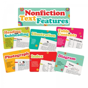 NONFICTION TEXT FEATURES BBS 15PCS