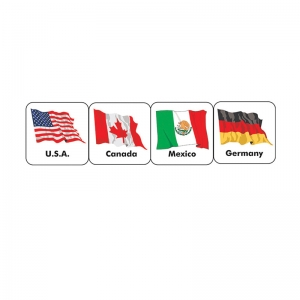 STICKERS WORLD FLAGS