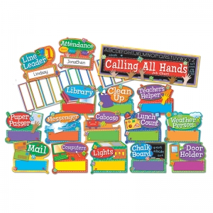 HANDS ON MANAGEMENT JOB CHART MINI  BB SET