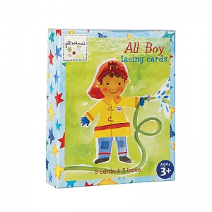 ALL BOY LACING CARDS