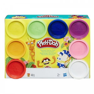 PLAY DOH RAINBOW STARTER PACK