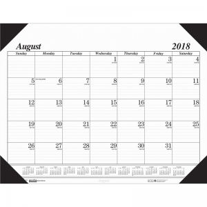 ACADEMIC ECONOMY DESK PAD 17-MONTH  AUG-DEC