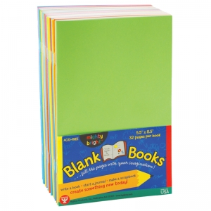 MIGHTY BRIGHT BOOKS 5 1/2 X 8 1/2  32 PAGES 20 BOOKS ASSORTED COLORS