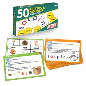 LANG ARTS ACTIVITY CARDS LETTERS  AND SOUNDS