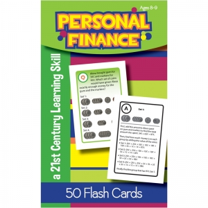 PERSONAL FINANCE FLASH CARDS GR 3