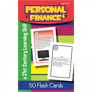 PERSONAL FINANCE FLASH CARDS GR 4