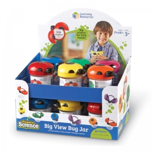 BIG VIEW BUG JARS POP DISPLAY 12SET