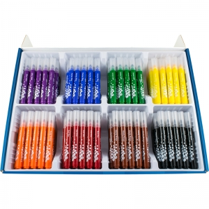 BROAD TIP MARKERS 200 COLOR SET  ULTRA WASHABLE