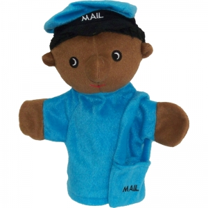 PUPPETS MACHINE WASHABLE POSTAL  WORKER