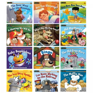 RISING READERS LEVELED BOOKS  NURSERY RHYME SONGS & STORIES 12