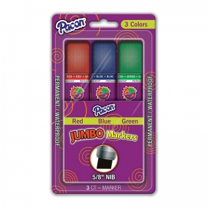 JUMBO MARKERS ASSORTED COLORS