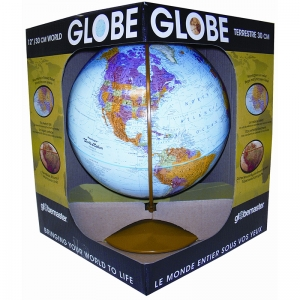 EXPLORER GLOBE 12IN GLOBEMASTER  ENGLISH/FRENCH
