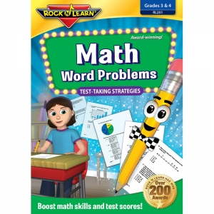 MATH WORD PROBLEMS TEST TAKING  STRATEGIES DVD