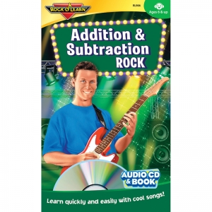 ADDITION & SUBTRACTION ROCK CD &  BOOK