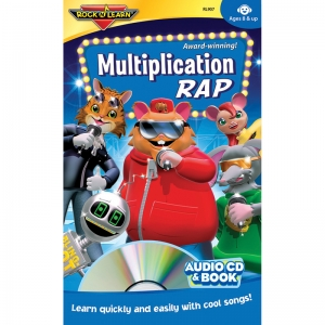 MULTIPLICATION RAP CD & BOOK