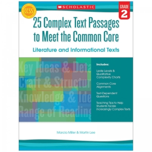 GR 2 25 COMPLEX TEXT PASSAGES TO  MEET THE CC LITERATURE & INFO TEXT