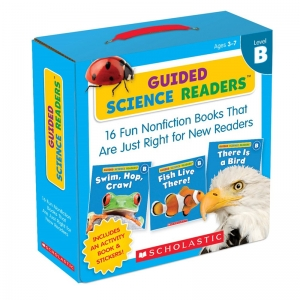 LEVEL B GUIDED SCIENCE READERS  PARENT PACK